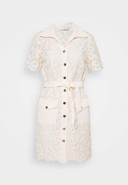 sandro - Skjortklänning - ecru