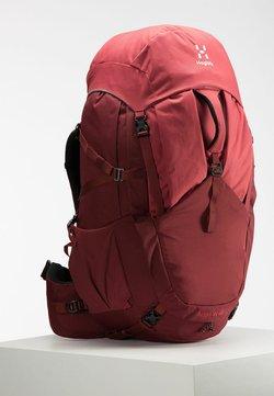 Haglöfs - Trekkingrucksack - light maroon red/brick red s-m