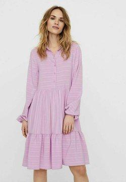 Vero Moda - Vestido camisero - violet tulle