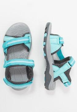 TrollKids - GIRLS PREIKESTOLEN - Sandały trekkingowe - mint/grey