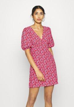 Miss Selfridge - TEA DRESS - Freizeitkleid - red