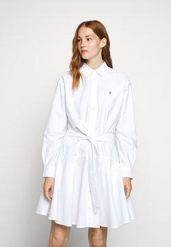 Polo Ralph Lauren - LONG SLEEVE CASUAL DRESS - Blousejurk - white