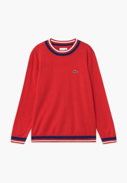Lacoste - SWEATERS - Strickpullover - rouge