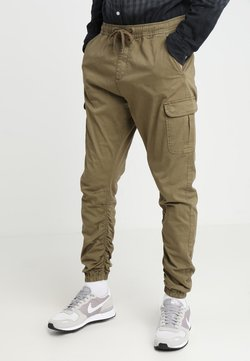 INDICODE JEANS - LAKELAND - Cargo trousers - army