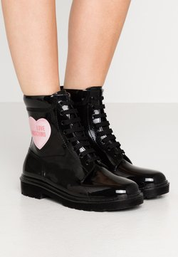 Love Moschino - RAIN LOVE - Veterboots - black