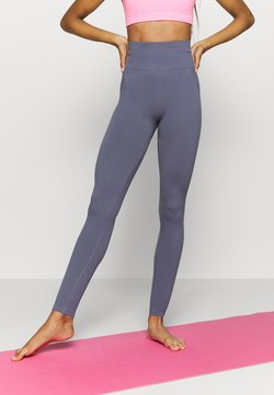 Cotton On Body - LIFESTYLE SEAMLESS - Tights - storm blue