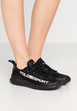 Polo Ralph Lauren - RIPSTOP TECH RACER - Sneakers laag - black/white