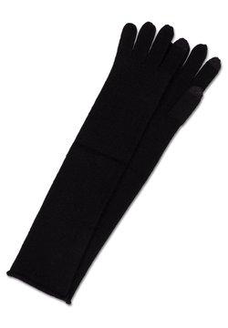 CASH-MERE - LANG - Fingerhandschuh - schwarz