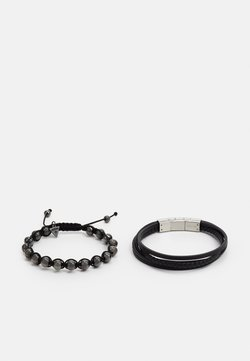 Guess - SET - Bracelet - black/gunmetal