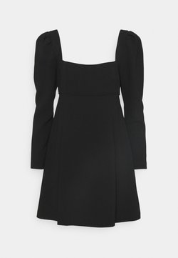 Forever New - PUFF SLEEVE DRESS - Cocktailkleid/festliches Kleid - black