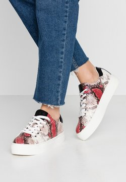 Marco Tozzi - LACE UP - Trainers - vino