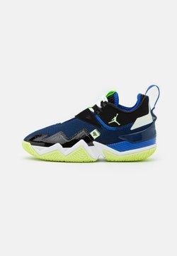 Jordan - WESTBROOK ONE TAKE - Chaussures de basket - black/barely volt/hyper royal/blue void/white
