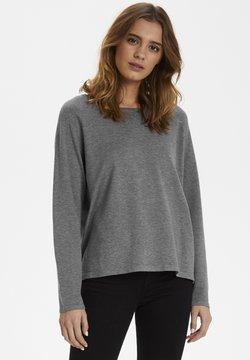 Culture - ANNEMARIE  - Pullover - mid grey melange
