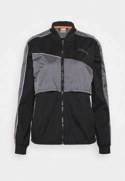 Puma - RUN LAUNCH ULTRA JACKET  - Sports jacket - black/castlerock