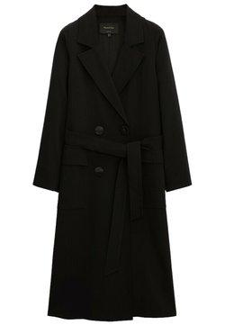 Massimo Dutti - Trenchcoat - black