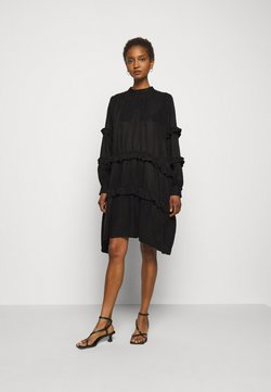 Bruuns Bazaar - SIANNA MAKKA DRESS - Cocktailkleid/festliches Kleid - black