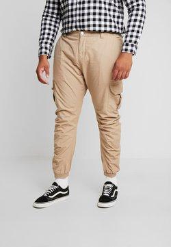 Urban Classics - RIPSTOP PANTS - Pantalon cargo - beige