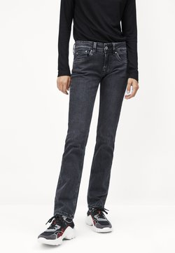 Pepe Jeans - SATURN - Jean droit - black denim