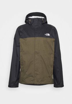 The North Face - VENTURE 2 JACKET  - Hardshelljacke - black/taupe