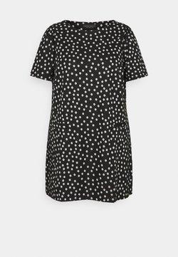 Dorothy Perkins Curve - SPOT PUFF SLEEVE - T-Shirt print - multi