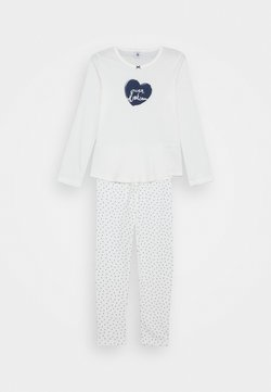 Petit Bateau - LILIA PYJAMA - Pyjamas - marshmallow/medieval