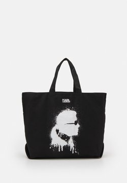 KARL LAGERFELD - EXCLUSIVE IKONIK TOTE - Shoppingväska - black