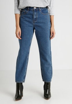 Lost Ink Petite - STRAIGHT  - Straight leg jeans - mid denim