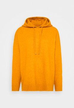 Monki - MARY HOODIE - Jersey con capucha - yellow