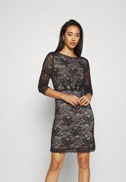 Vero Moda - VMEVIE 3/4 DRESS - Vapaa-ajan mekko - black