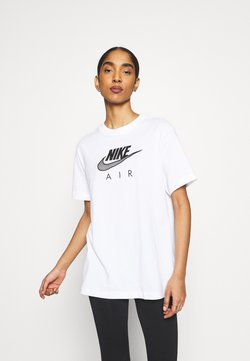 Nike Sportswear - AIR  - Camiseta estampada - white/black