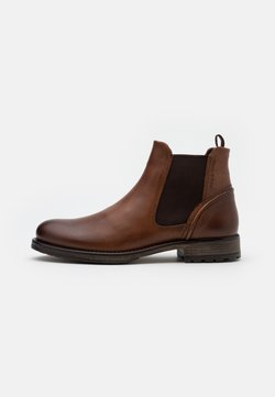 Marc O'Polo - CHELSEA BOOT - Stiefelette - cognac