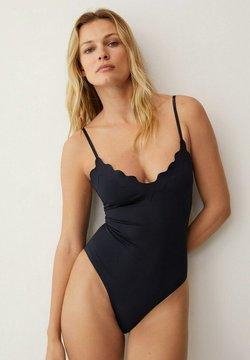 Mango - WAVY - Swimsuit - svart