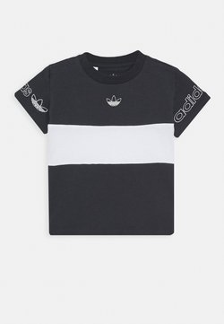 adidas Originals - PANEL TEE - T-shirt print - grey