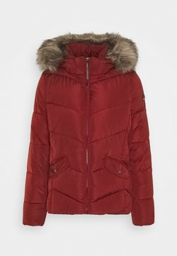 ONLY - ONLROONA QUILTED JACKET - Winterjacke - fired brick