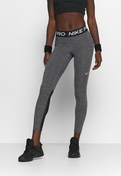Nike Performance - Tights - black/heather/white