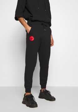 Vivienne Westwood Anglomania - CLASSIC TRACKSUIT BOTTOMS TIME TO ACT - Jogginghose - black
