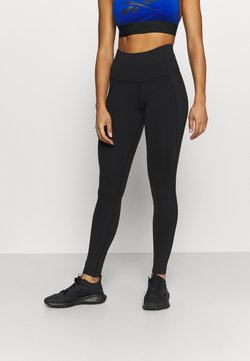 Reebok - LUX HIGHRISE - Tights - black