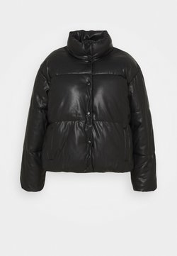 Vero Moda Curve - VMEMILY COATED JACKET - Winterjacke - black