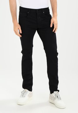 G-Star - 3301 SLIM - Slim fit -farkut - ita black superstretch