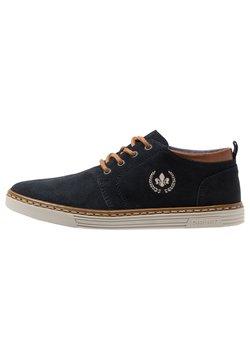 Rieker - Sznurowane obuwie sportowe - pazifik/peanut