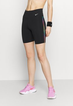 Nike Performance - ONE RAINBOW  - Tights - black/white