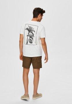 Selected Homme - T-shirt print - egret