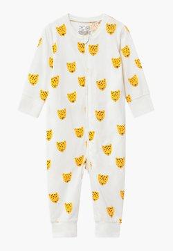 Lindex - LEO FACES - Pyjama - light dusty white