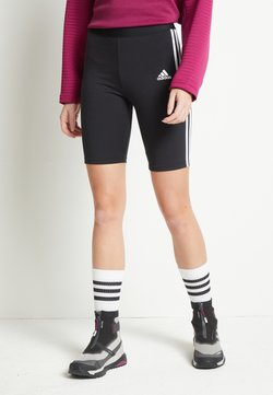 adidas Performance - SHORTS - Tights - black/white