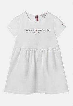 Tommy Hilfiger - BABY ESSENTIAL  - Jerseykleid - white