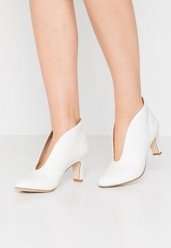 Anna Field - LEATHER ANKLE BOOTS - Ankle Boot - white