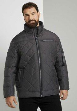 TOM TAILOR - Winterjacke - grey structure jacket