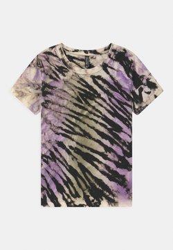 Blue Effect - GIRLS - T-shirt con stampa - lila/black