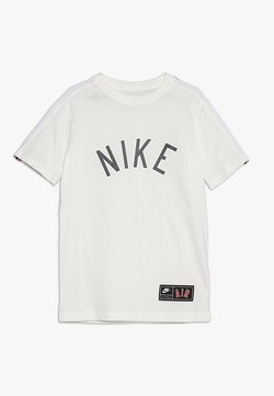 Nike Performance - TEE AIR  - T-shirt med print - sail/black