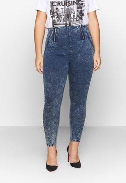 Simply Be - SHAPER JEGGING - Jeans Skinny - blue acid